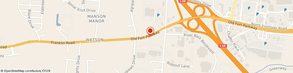 Route/map/directions to Doctor's Diet Program Pc, 37128 Murfreesboro, 2482 OLD FORT PKWY