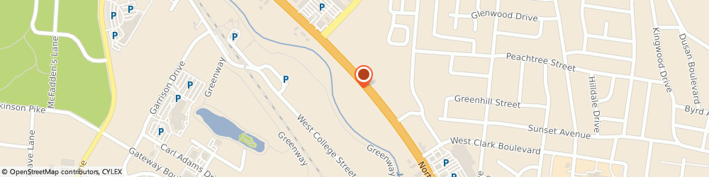 Route/map/directions to Dr. Karman Gossett Acupuncture, 37129 Murfreesboro, 1439 NW Broad St