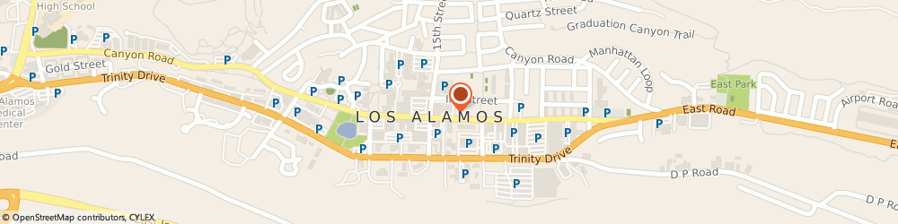 Route/map/directions to Subway Los Alamos, 87544 Los Alamos, 1350 CENTRAL AVE, STE 104