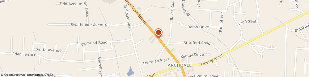 Route/map/directions to Papa John's Pizza, 27263-7404 Archdale, 11651 N Main St