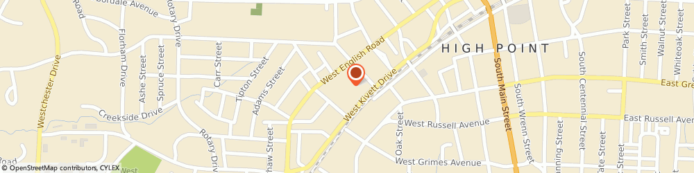 Route/map/directions to West End Ministries, 27262 High Point, 903  English Rd