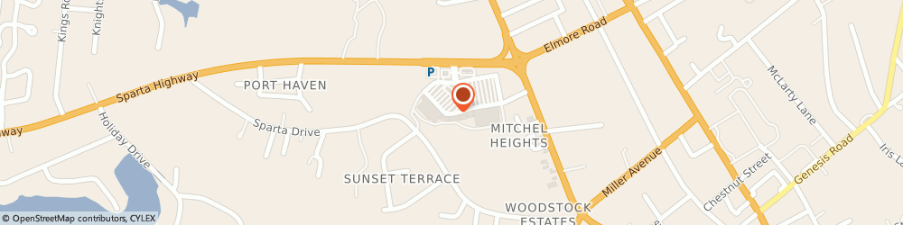 Route/map/directions to Little Caesars Pizza, 38555 Crossville, 211 Highland Square