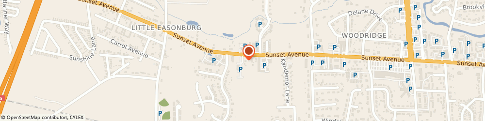 Route/map/directions to MSH Insurance, 27804 Rocky Mount, 72 Azimuth Ct