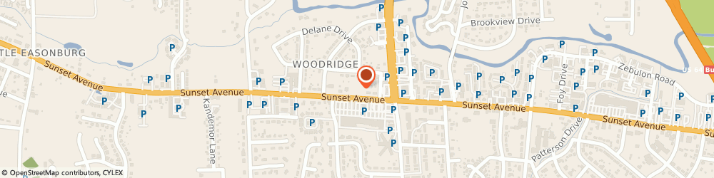 Route/map/directions to Pizza Hut, 27804 Rocky Mount, 3646 Sunset Ave.