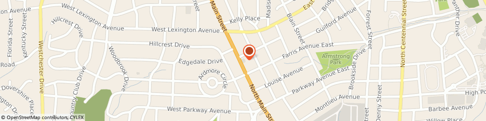 Route/map/directions to YMCA of High Point Inc., 27262 High Point, 1220 N. Main Street