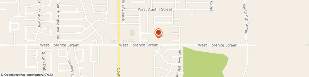 Route/map/directions to Florence Street Baptist Church, 74011 Broken Arrow, 200 W Florence St