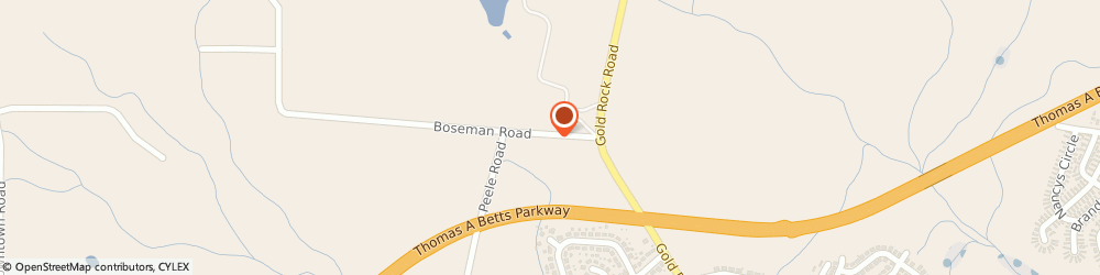 Route/map/directions to U-Haul Co., 27801 Rocky Mount, 3301D BOSEMAN RD