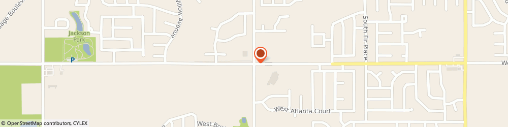 Route/map/directions to Sinclair, 74012 Broken Arrow, 4951 W Washington St