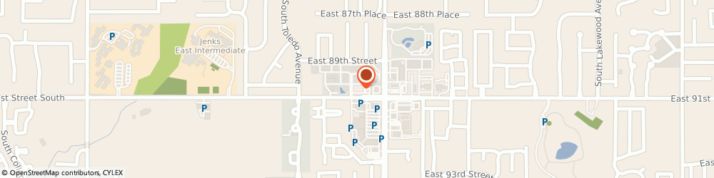 Route/map/directions to SUPERCUTS, 74137 Tulsa, 4785 E 91St St