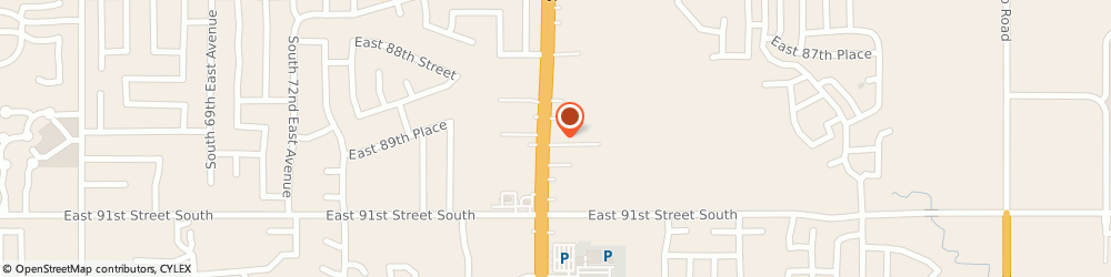 Route/map/directions to H&r Block, 74133 Tulsa, 8929 S MEMORIAL