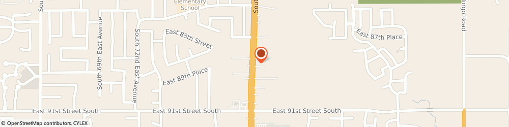 Route/map/directions to Hobby Lobby Creative Centers, 74133 Tulsa, 8929 SOUTH MEMORIAL DRIVE