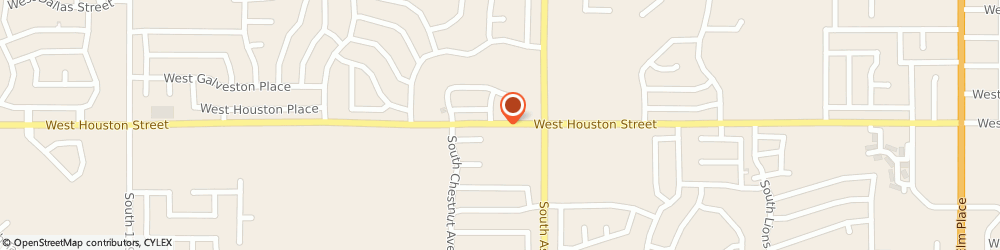 Route/map/directions to Curves For Women-Broken Arrow, 74012 Broken Arrow, 2027 WEST HOUSTON STREET