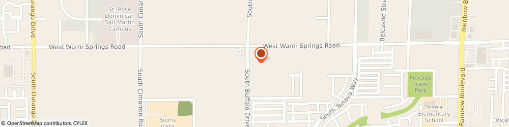 Route/map/directions to Rhodes Ranch KinderCare, 89113 Las Vegas, 7380 S. Buffalo Drive