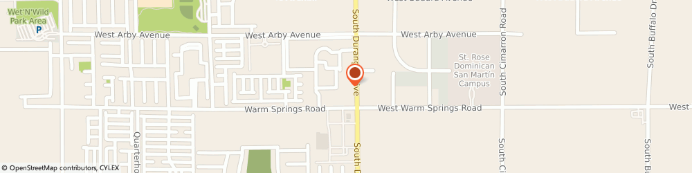 Route/map/directions to Sonic Drive-In, 89113 Las Vegas, 7245 South Durango Drive