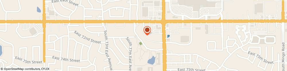 Route/map/directions to H&R Block, 74133 Tulsa, 7140 S Memorial Dr