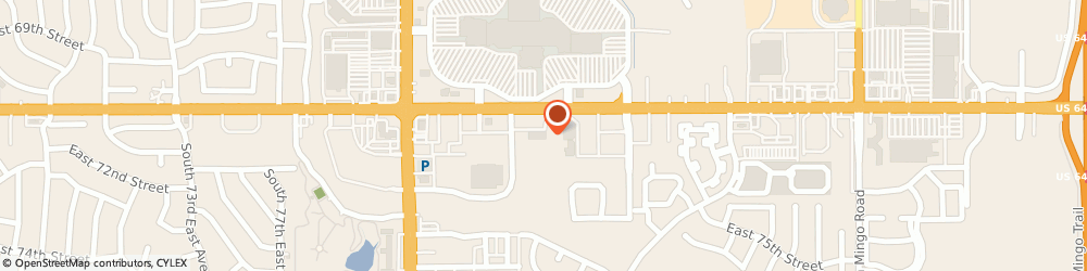 Route/map/directions to GREAT CLIPS, 74133 Tulsa, 8518 E 71St St