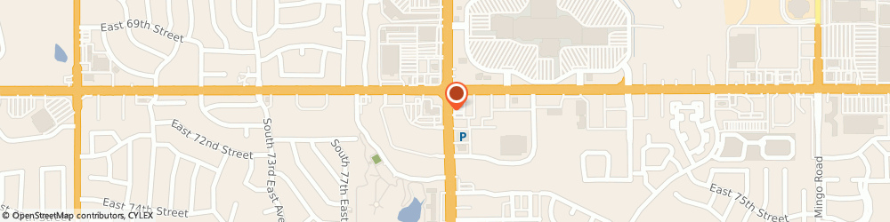 Route/map/directions to American Red Cross - Southside Donor Center, 74133 Tulsa, 7158 S Memorial Dr