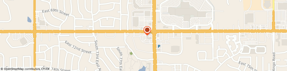 Route/map/directions to Great Clips, 74133 Tulsa, 7920 E 71st St