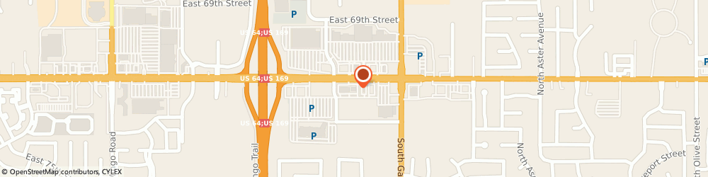 Route/map/directions to IHOP, 74133 Tulsa, 11020 East 71St St