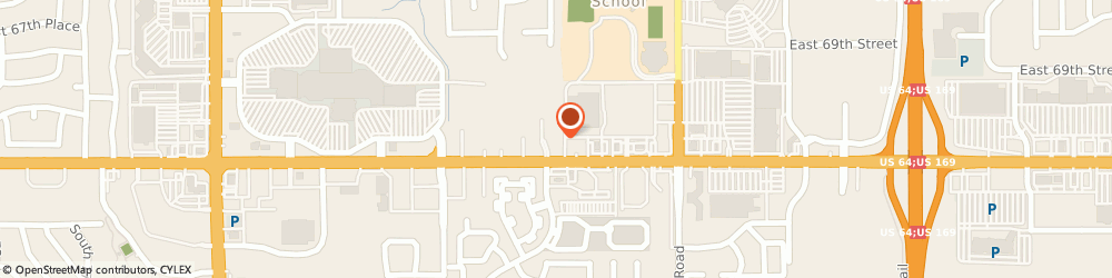 Route/map/directions to Sleep Number, 74133 Tulsa, 9205 E 71st St