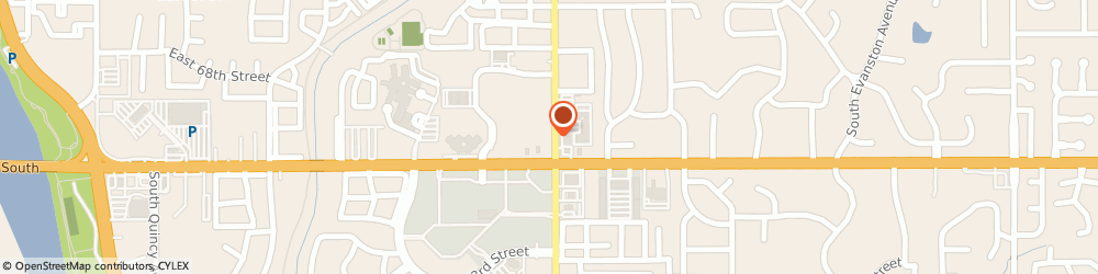 Route/map/directions to Curves For Women, 74136 Tulsa, 7030 SOUTH LEWIS AVENUE SUITE E