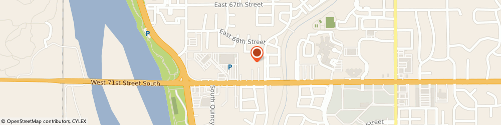 Route/map/directions to SecurCare Self Storage, 74136 Tulsa, 6834 South Trenton Avenue