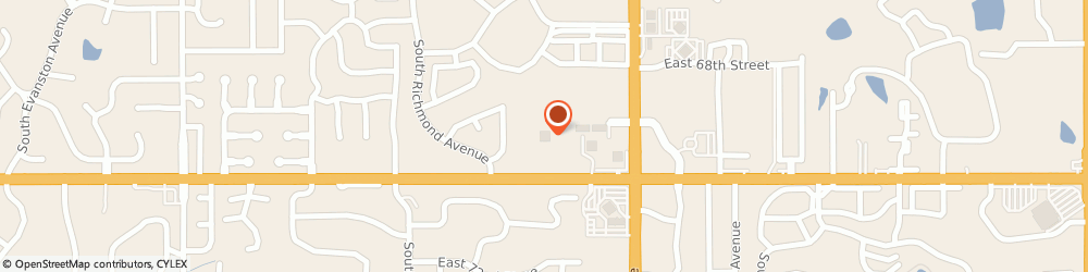 Route/map/directions to ATM (Bank of Oklahoma), 74136 Tulsa, 7060 S Yale Ave