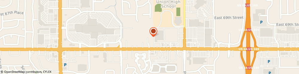 Route/map/directions to Gateway Stores, 74133 Tulsa, 9121 EAST 71ST STREET