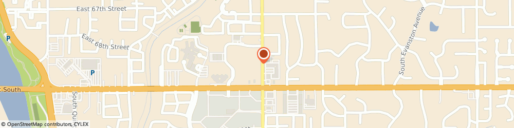 Route/map/directions to AVIS Tulsa, 74136 Tulsa, 6950 South Lewis Avenue