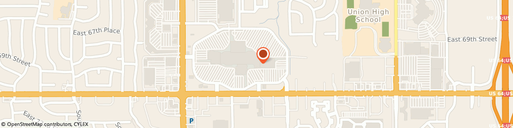 Route/map/directions to Zales, 74133 Tulsa, 7021 S Memorial Dr