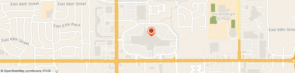 Route/map/directions to Kay Jewelers, 74133 Tulsa, 7021 S Memorial Dr.