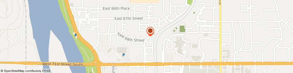Route/map/directions to Avondale Apartments, 74136 Tulsa, 6760 SOUTH TRENTON AVENUE
