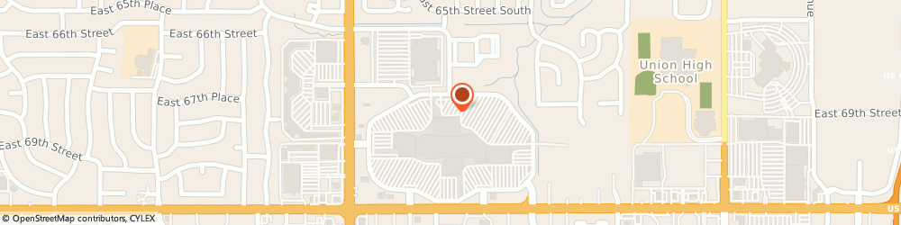 Route/map/directions to Dillards, 74133 Tulsa, 6919 South Memorial