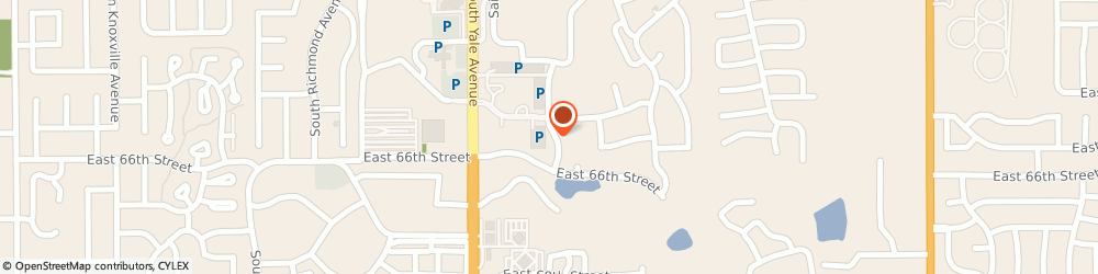 Route/map/directions to Birthright, 74136 Tulsa, 6465 SOUTH YALE AVENUE SUITE 519