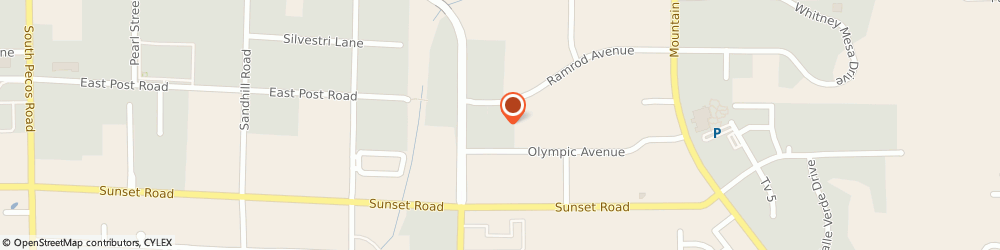 Route/map/directions to Residence Inn Henderson/Green Valley, 89014 Henderson, 2190 Olympic Avenue