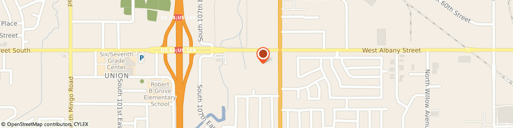 Route/map/directions to U-Haul Co., 74133 Tulsa, 11122 E 61ST ST