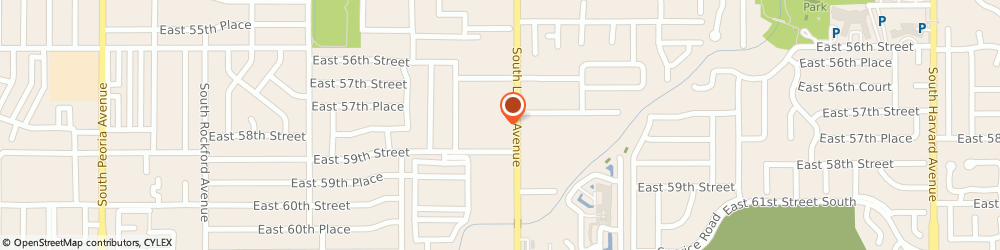 Route/map/directions to Lula Gray Salon, 74105 Tulsa, 5800 S Lewis Ave Suite 127,