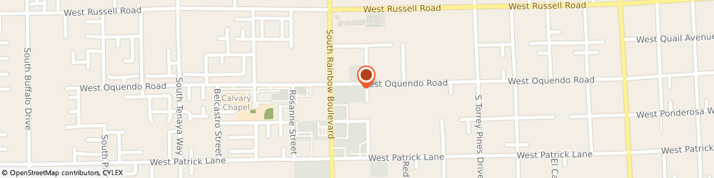 Route/map/directions to RW Mechanical Inc., 89118 Las Vegas, 5940 S Rainbow Blvd