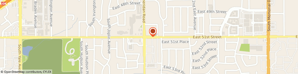 Route/map/directions to SUPERCUTS, 74145 Tulsa, 6568 E 51St St Ste A