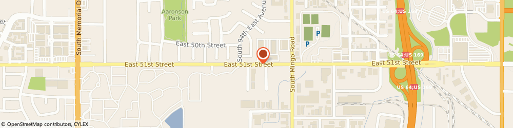 Route/map/directions to Accufax, 74145 Tulsa, 9432 EAST 51ST STREET