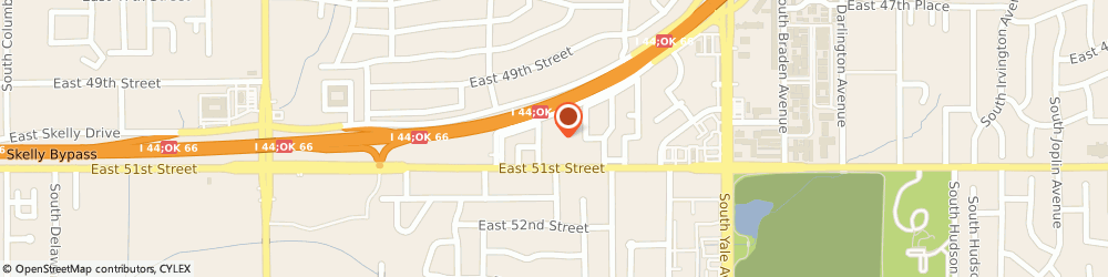 Route/map/directions to The Eagleton Brown Investment Group, LLC, 74135 Tulsa, 4200 E. Skelly Drive