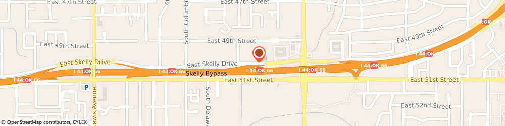 Route/map/directions to Chew Properties, 74105 Tulsa, 3015 E SKELLY DR # 442