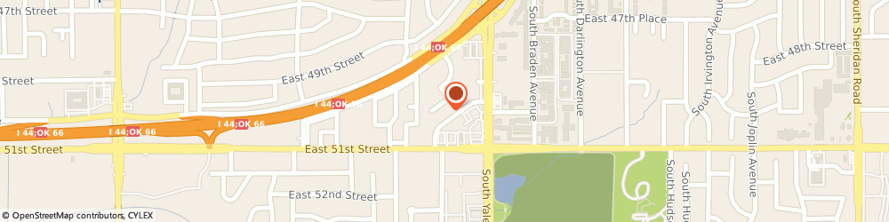 Route/map/directions to Residence Inn by Marriott Tulsa Midtown, 74135 Tulsa, 4522 East Skelly Drive