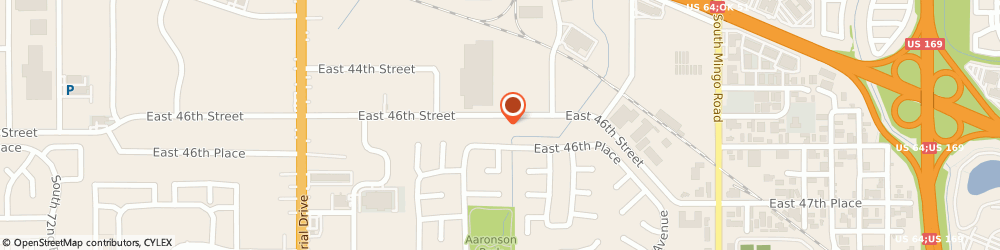 Route/map/directions to COMPLETE AUTO REPAIR & SERVICE, 74145 Tulsa, 8740 E 46Th St