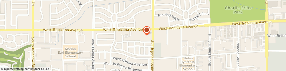 Route/map/directions to Metro by T-Mobile, 89103-4699 Las Vegas, 6125 W Tropicana Ave