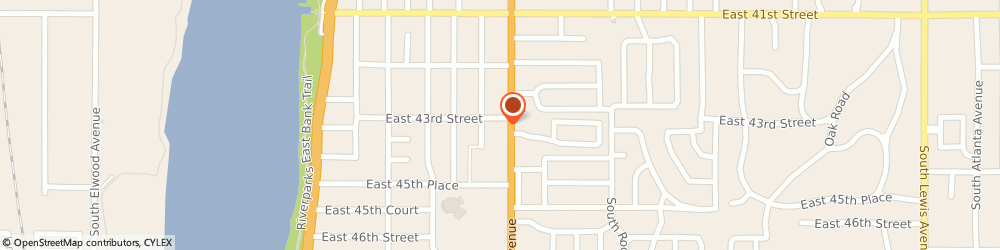 Route/map/directions to Brookside Sugar Art Supplies, 74105 Tulsa, 4306 S Peoria Ave.