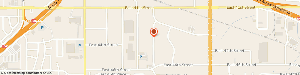 Route/map/directions to HAMILTON AUTO REPAIR INC, 74145 Tulsa, 4254 S 74Th East Ave