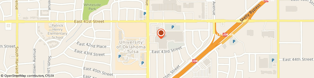Route/map/directions to Regis Salons, 74135 Tulsa, 4107 S Yale Ave Ste 109