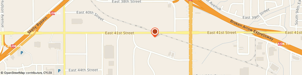 Route/map/directions to Isuzu Diesel Engines Distributor, 74145 Tulsa, 7454 E. 41St Street