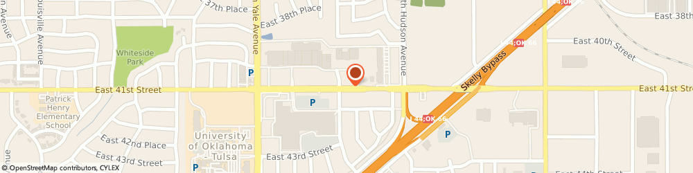 Route/map/directions to Jo-Ann Fabrics & Crafts, 74135 Tulsa, 5327 E 41St St
